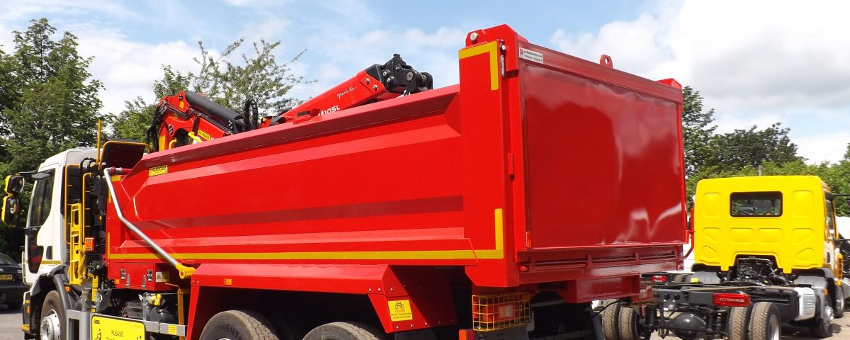 32t Tipper Grab 8x4